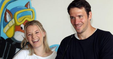 Felix Neureuther und Miriam Neureuther