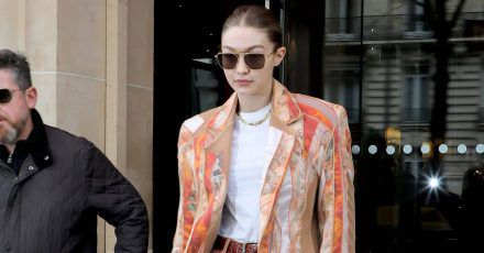 Best Dress of the Day (862): Gigi Hadid bei der Fashion Week