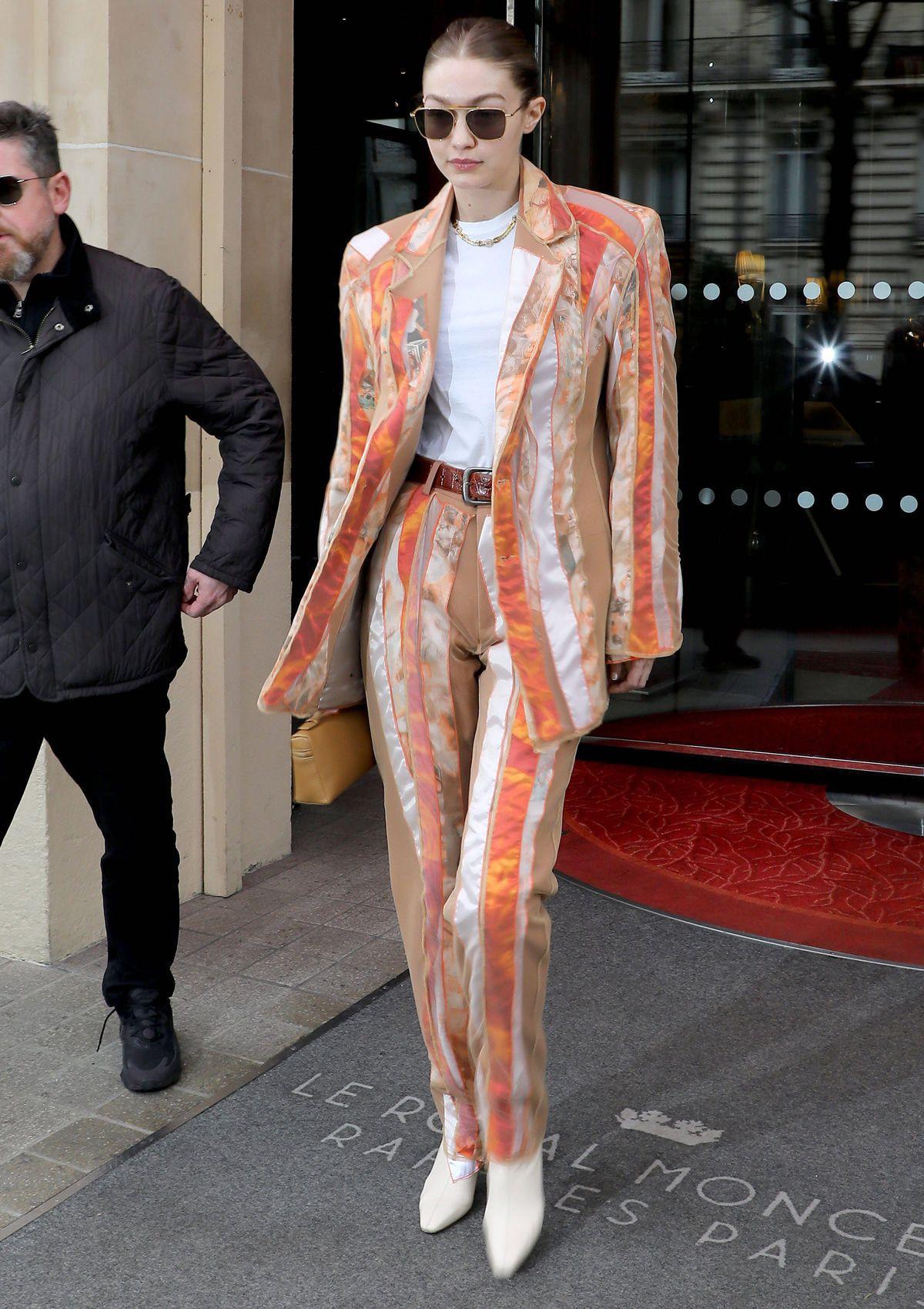 Best Dress of the Day (862): Gigi Hadid bei der Fashion Week