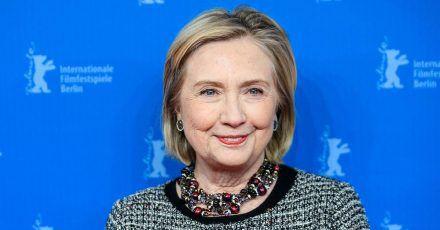 """Hillary Clinton zu Besuch an der Spree: """"Ich liebe Berlin, ich liebe Filme"""""""