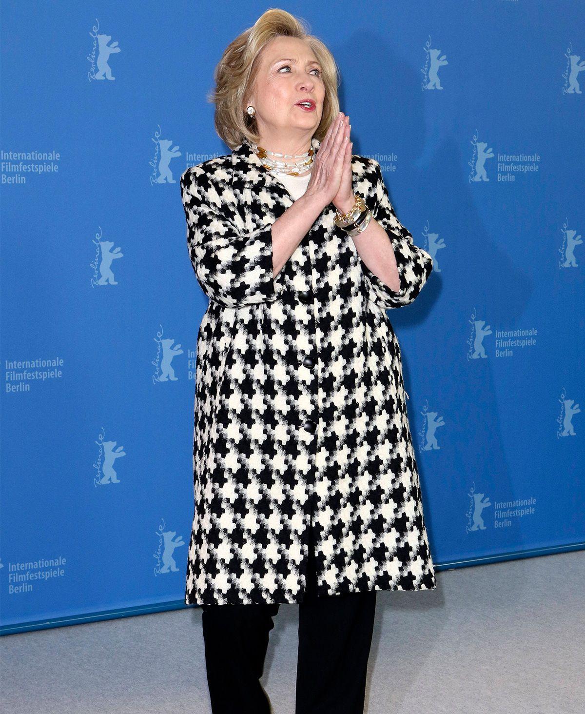 """Hillary Clinton: """"Madam Secretary"""" wird auf Berlinale wie Filmstar empfangen"""