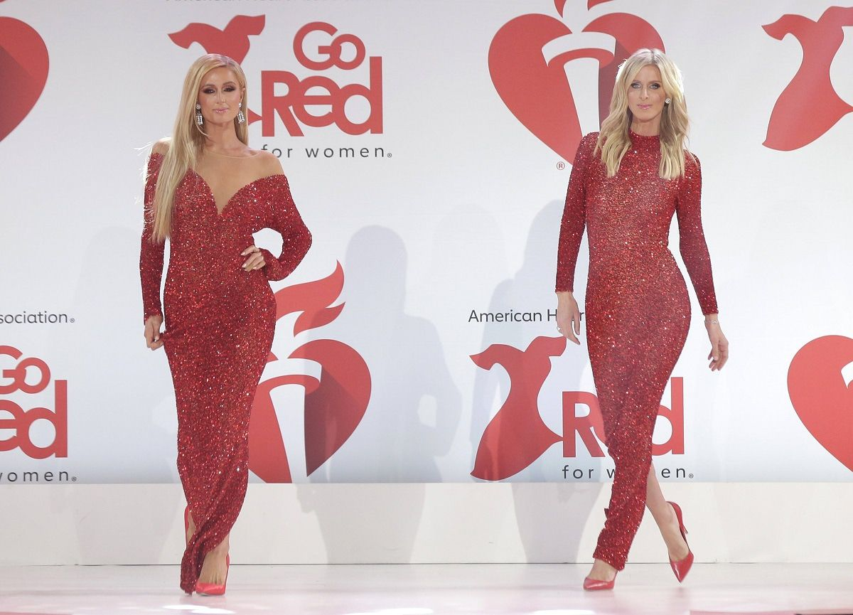 Paris und Nicky Hilton im Partnerlook