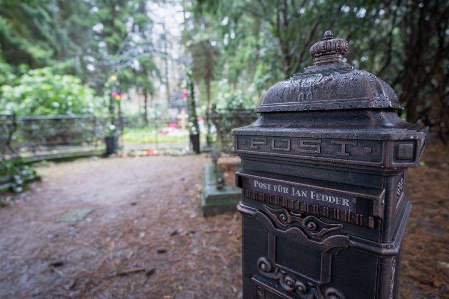 Jan Fedder: Jetzt gibt's einen Briefkasten an seine Grab