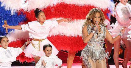 Jennifer Lopez: Tochter Emme stahl ihr beim Super Bowl die Show