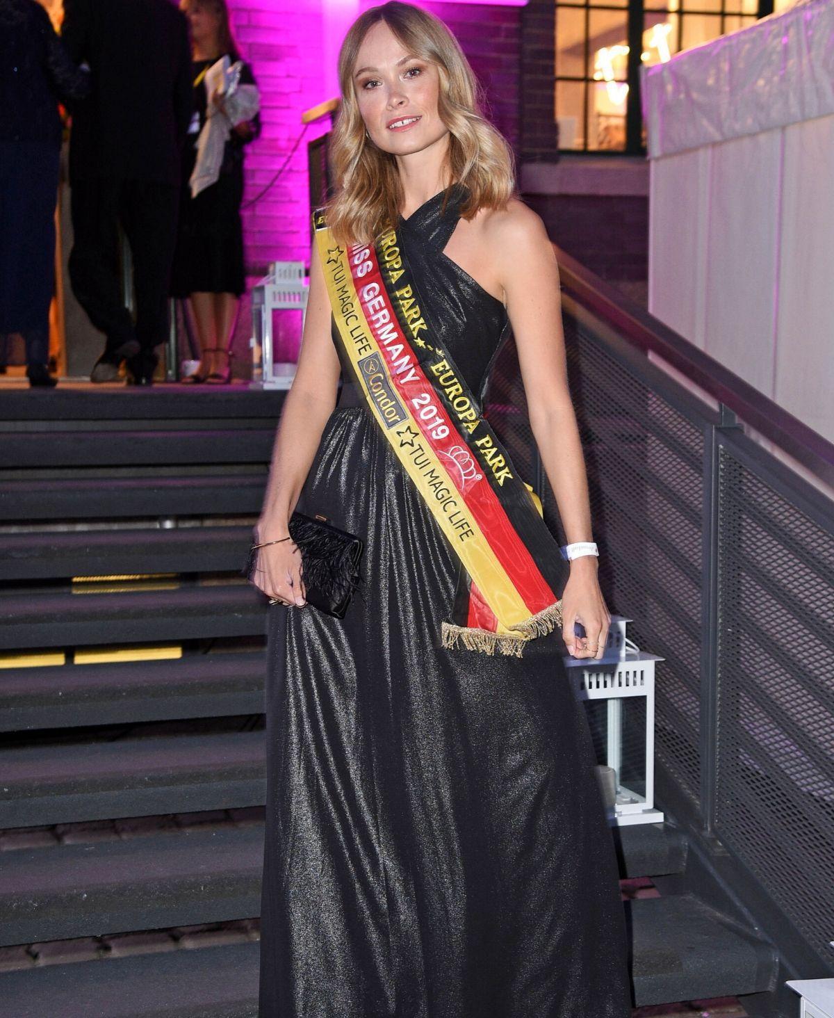 Nadine Berneis: Miss Germany freut sich wieder auf ihre Polizeiuniform