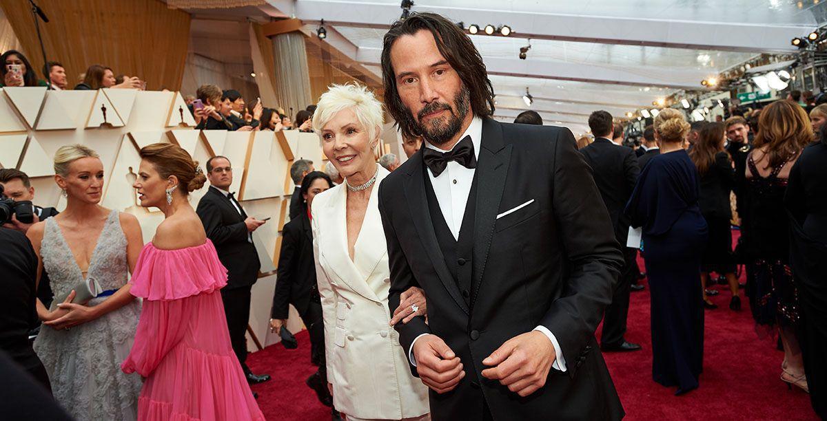 Keanu Reeves kam mit seiner Mama zu den Oscars