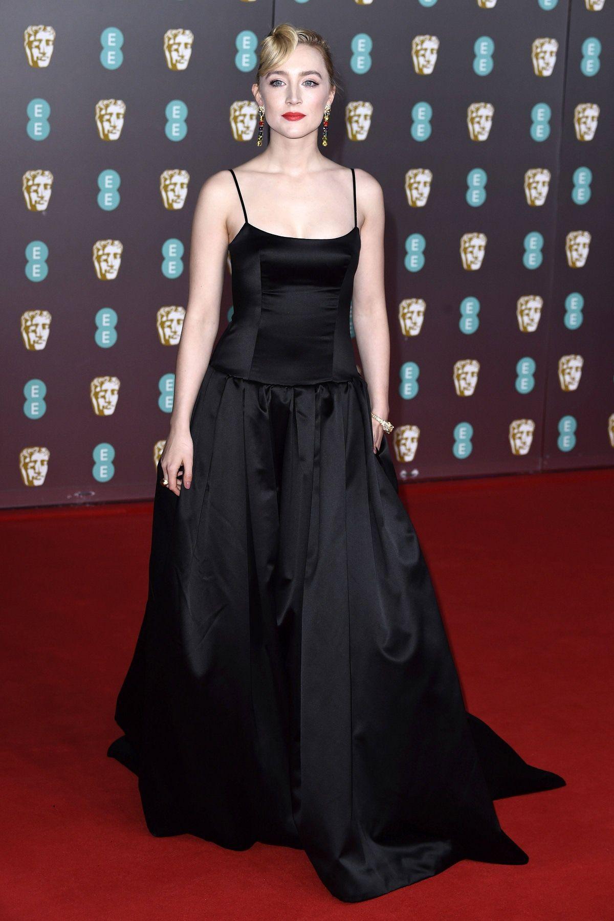 Saoirse Ronan kam in recyceltem Kleid zu BAFTA Awards