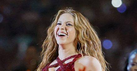 Shakira: Alle lachen über ihre Zunge beim Super Bowl