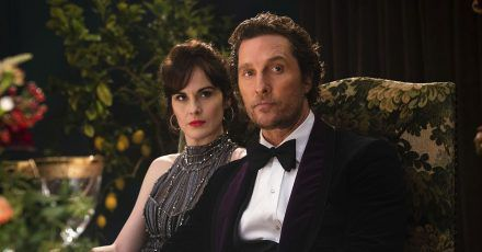 """The Gentlemen"": Matthew McConaughey & Michelle Dockery im Interview!"