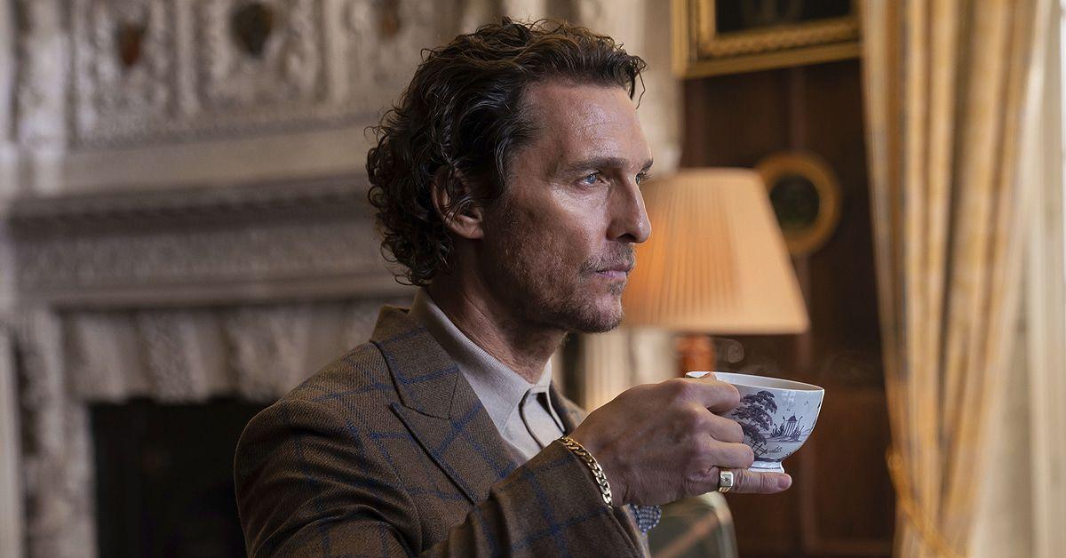 """""""The Gentlemen"""": Matthew McConaughey & Michelle Dockery im Interview!"""