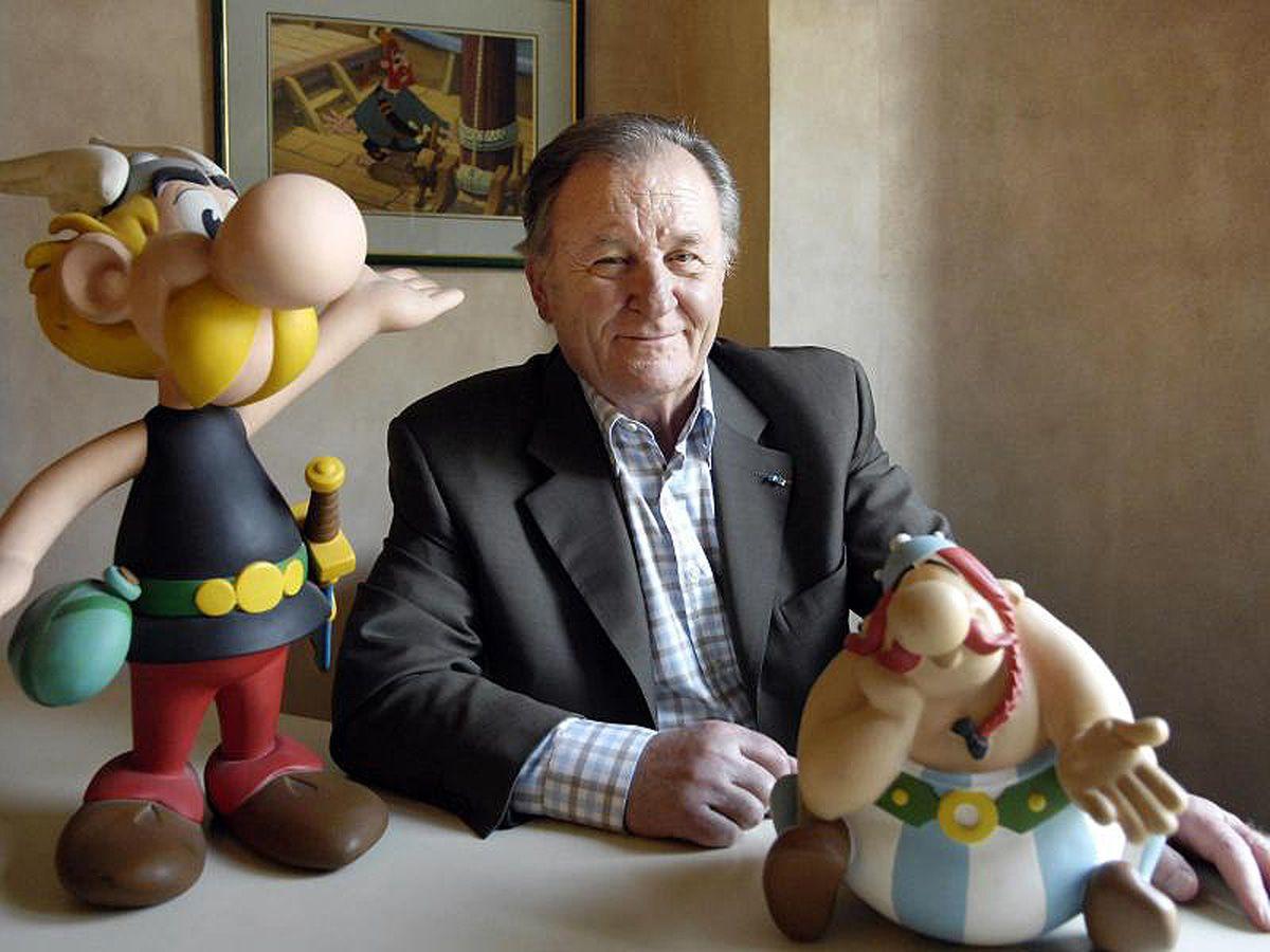 Asterix-Erfinder Albert Uderzo ist tot