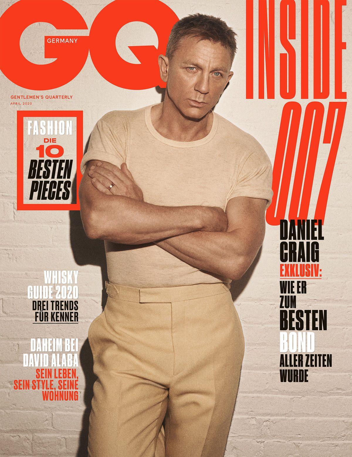 """Daniel Craig über 007: """"Ich hatte aufrichtig Angst, dass ich mir das Leben versaue"""""""