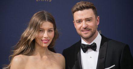 Justin Timberlake macht mit seiner Familie Skiurlaub?