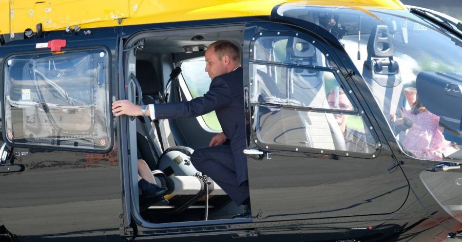 Prinz William fliegt bald Corona-Patienten durch die Gegend?