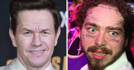 Mark Wahlberg warnte Post Malone vor Gesichts-Tattoos