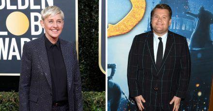 James Corden und Ellen DeGeneres canceln ihre Shows wegen Corona