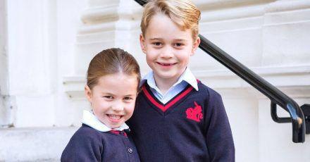 Prinz George und Prinzessin Charlotte lernen jetzt online