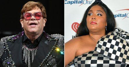"""Elton John sucht Trost bei Lizzo - und: """"Ich vergöttere Dich!"""""""