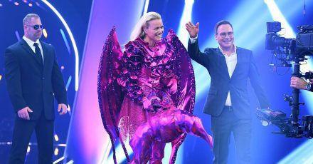 """""""The Masked Singer"""": Franziska Knuppe wurde als Zweite enttarnt"""