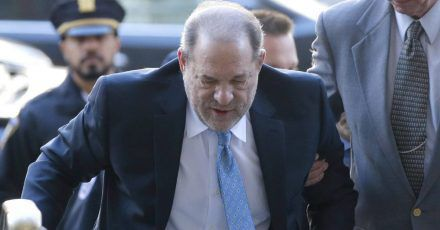"""Harvey Weinstein ist im Gefängnis """"schwer"""" gestürzt"""