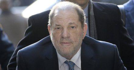 Harvey Weinstein wartet nach Herz-OP im Gefängnis auf Urteil