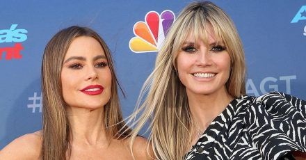 Heidi Klum gab Sofia Vergara Tipps für 'America's Got Talent'