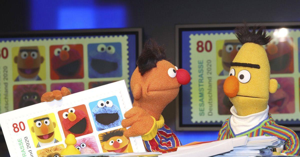 Sesamstraße: Sonderbriefmarke mit Ernie, Bert und Co.