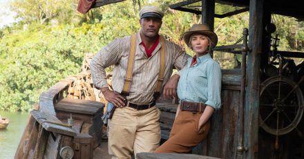 """""""Jungle Cruise"""" mit Dwayne Johnson & Emily Blunt: Neuer Trailer!"""