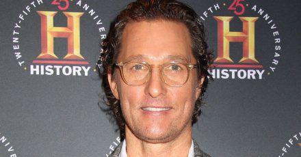 """Matthew McConaughey will noch """"acht weitere Kinder"""""""