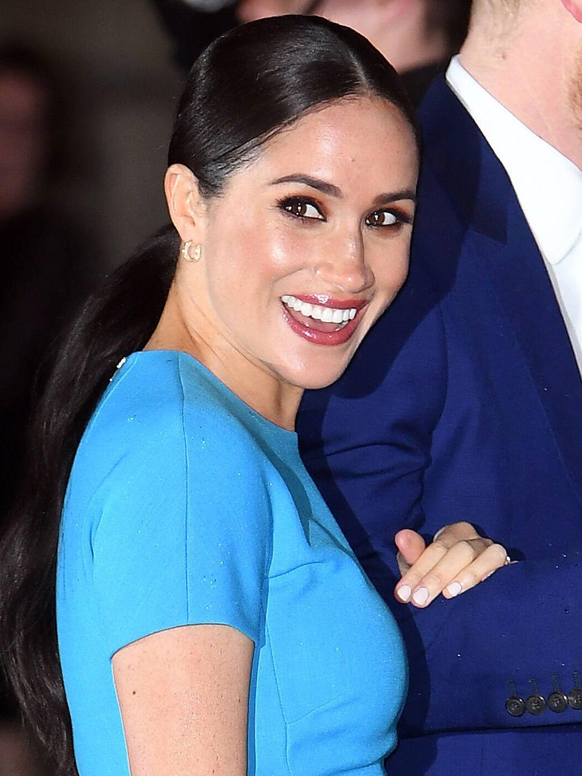 Letzte Auftritte: Prinz Harry und Herzogin Meghan blau in London