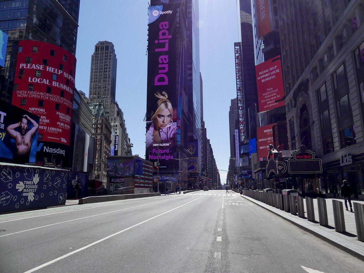 Corona-Krise: New York wird zur Geisterstadt