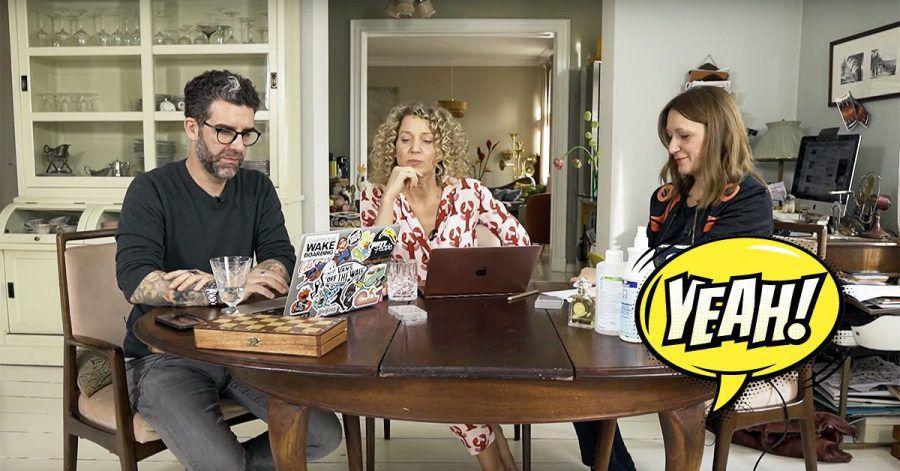 """""""Nudeln und Klopapier"""": Alles über den neuen Wohnzimmer-Corona-Channel"""