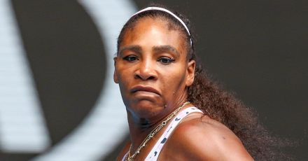 Serena Williams: Zweijährige Tochter hilft beim Make-Up