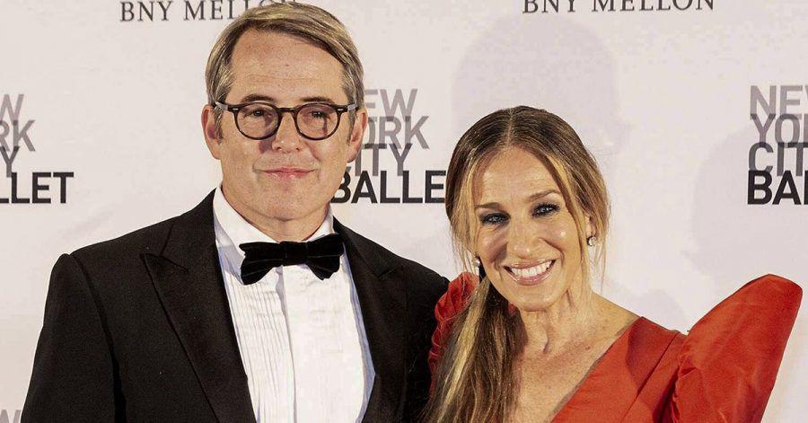 Sarah Jessica Parker und Matthew Broderick wiedervereint