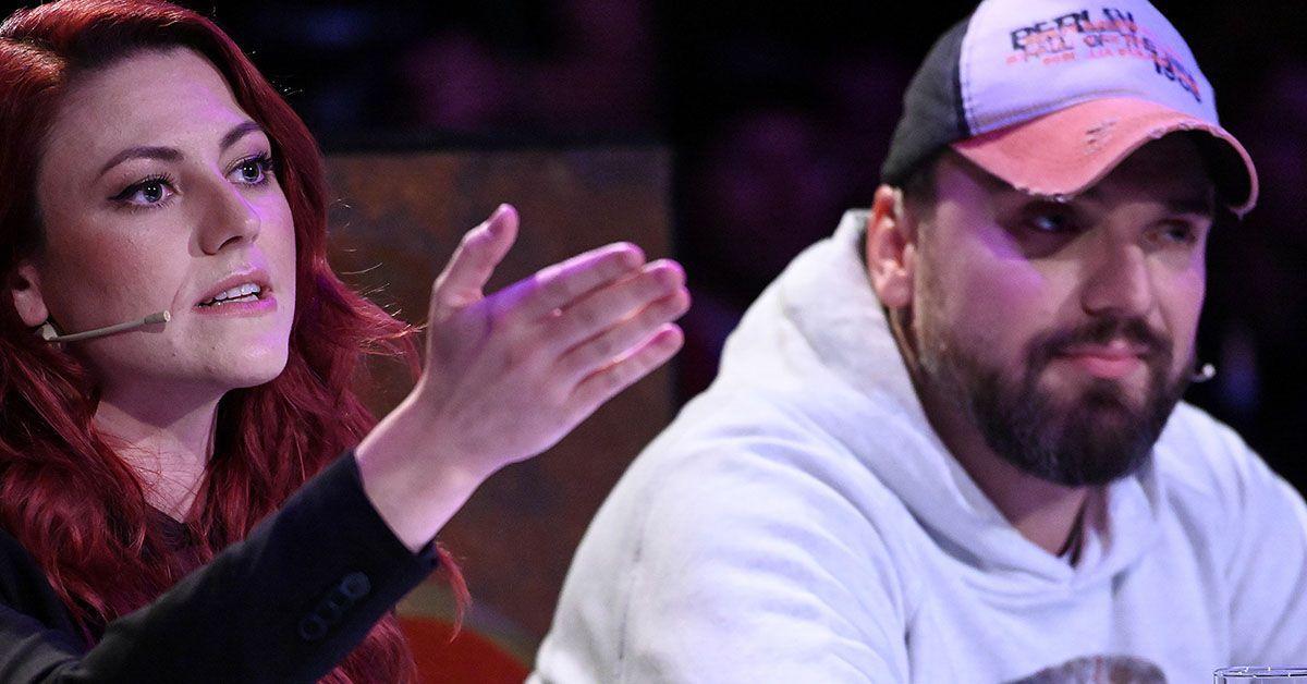 Aurelio Savina geht auf Comedian Tahnee Schaffarczyk los