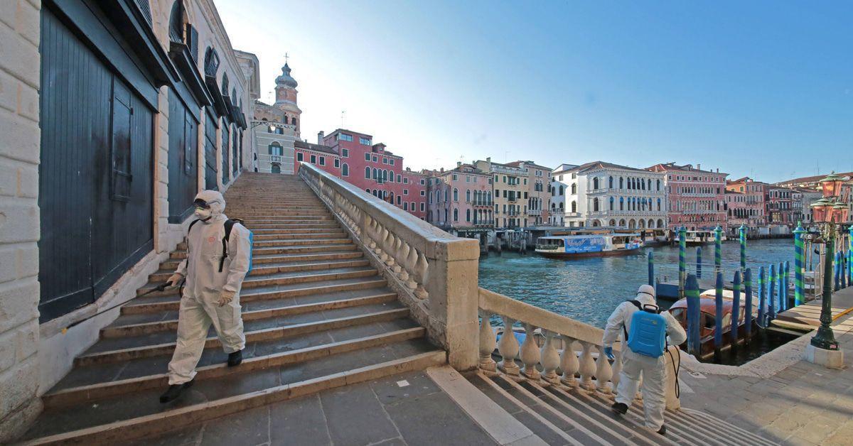 Corona In Venedig