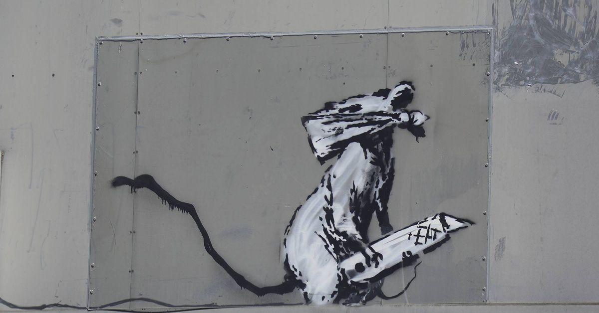 Banksy Corona Ratten