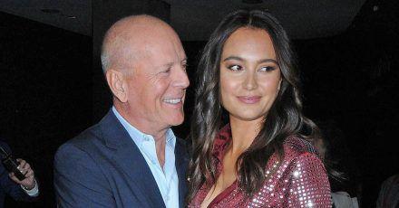 Bruce Willis: Ehefrau Emma findet Quarantäne mit Demi Moore ok