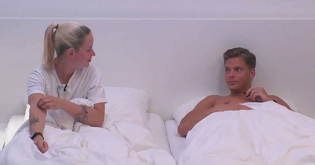 """""""Big Brother"""": Cedric wartet im Bett auf Gina"""