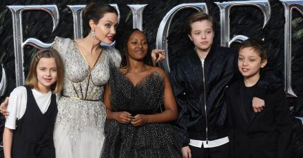 """Angelina Jolie: """"Meine Kinder erziehen mich"""""""