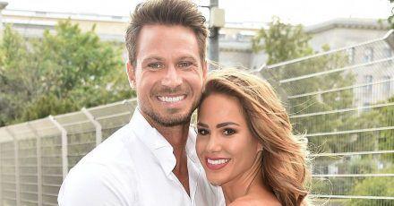 Angelina Heger und Sebastian Pannek haben geheiratet: Das erste Hochzeitsfoto