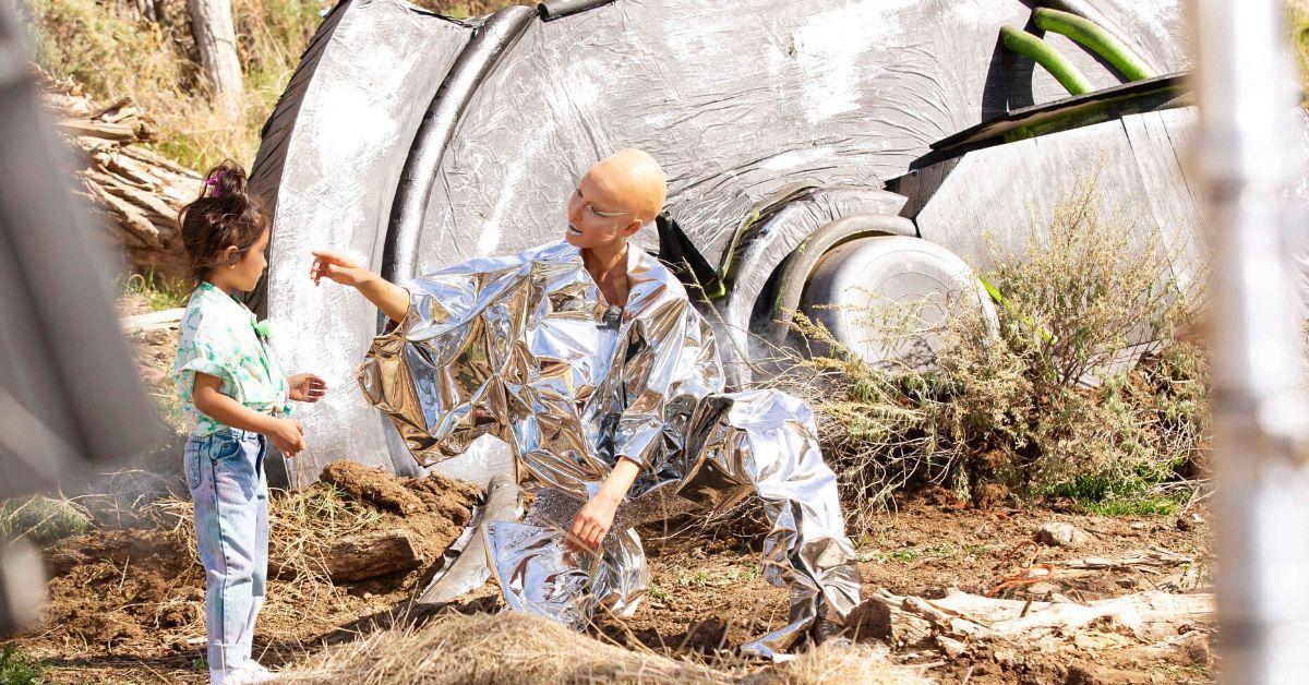 #GNTM: Heidis-Ex Thomas Hayo coacht die Models beim Alien-Shooting