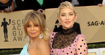 Covergirls: Kate Hudson mit Mama Goldie Hawn und Baby Rani!