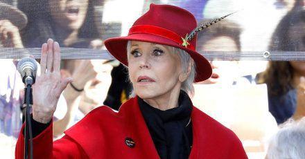 Jane Fonda startet Verkaufsaktion mit Jogginganzügen