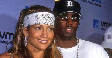 Jennifer Lopez (USA) mit Freund Sean - Puffy
