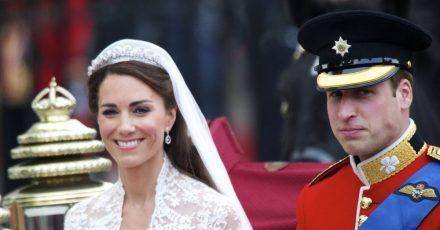 So half Prinz William Kates Friseur am Hochzeitstag