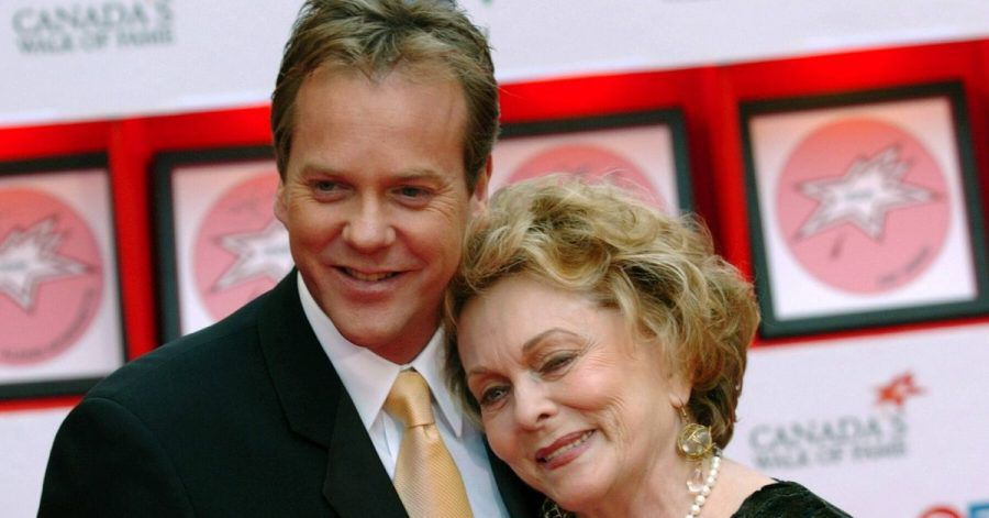 Kiefer Sutherland: Trauer um Mutter Shirley Douglas