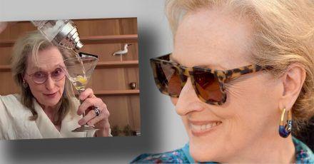 Meryl Streep beim putzigen Videochat mit Freundinnen