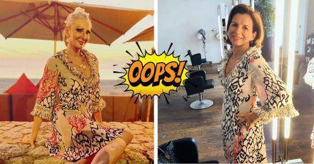 Unfassbar: Désirée Nick trägt ein Kleid von Claudia Obert!