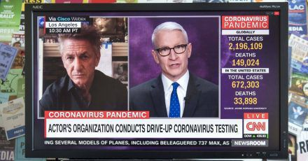 Sean Penn organisiert Corona-Tests